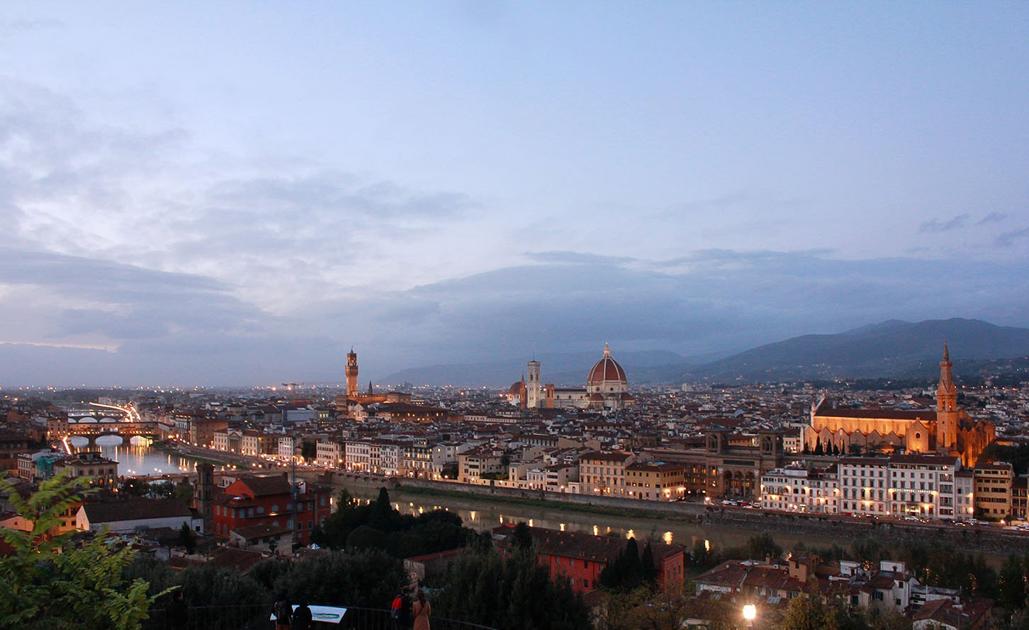 Florence itinerary: Piazza Michelangelo