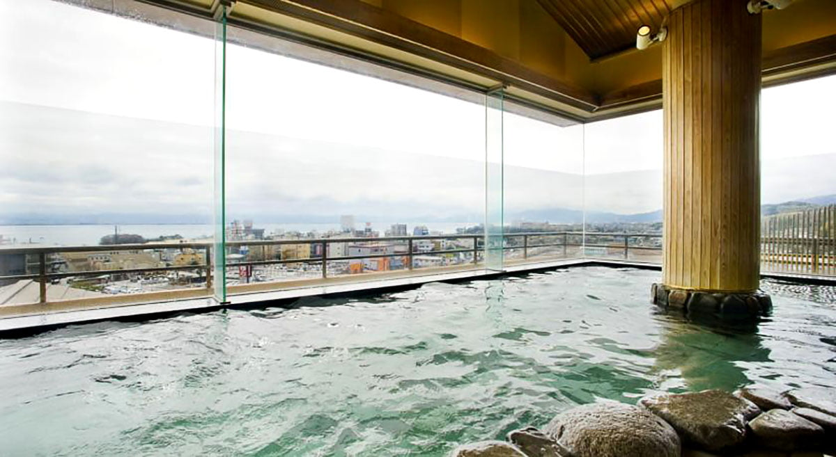 japanese onsen at Yumotokan onsen ryokan hotel • The Petite Wanderess