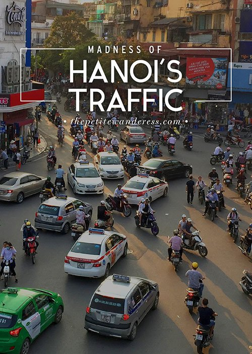 Hanoi traffic • The Petite Wanderess