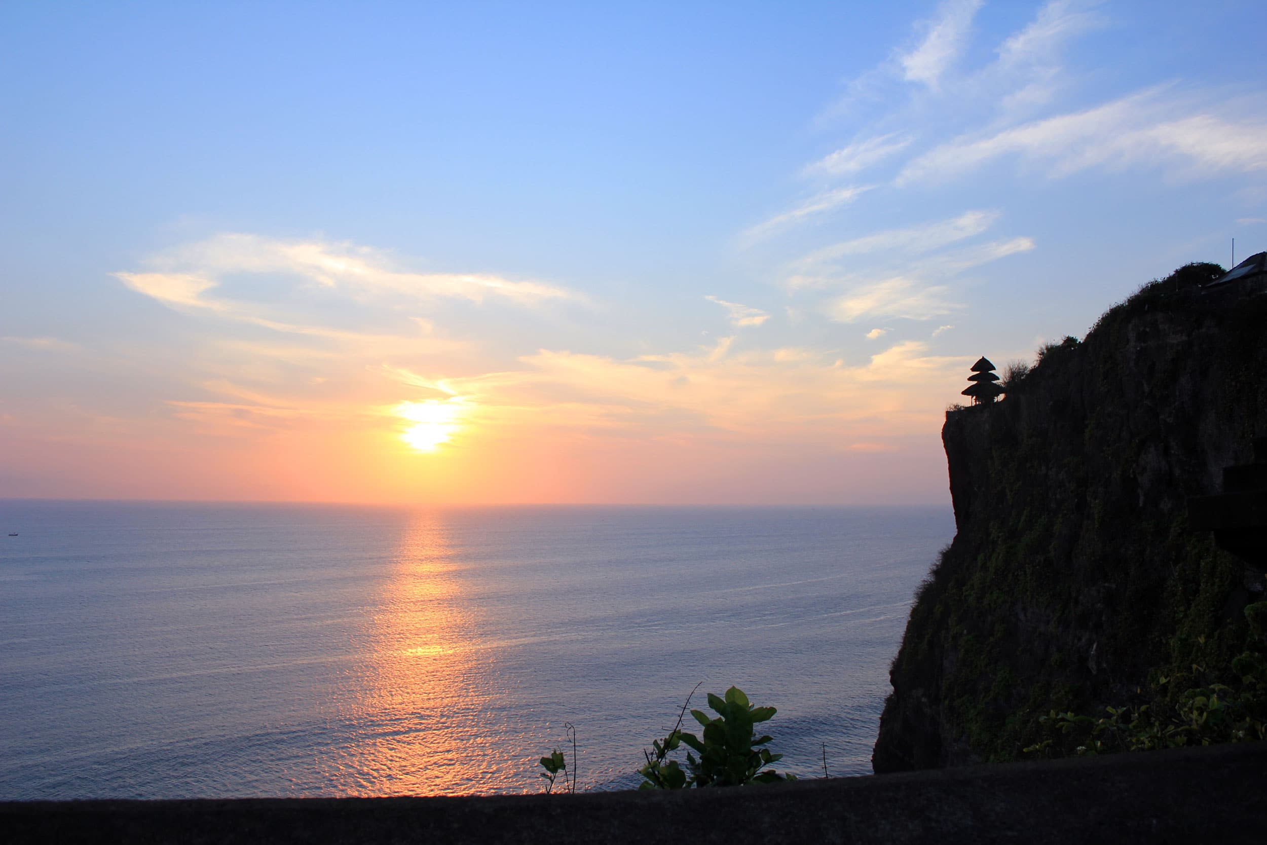 Bali sunset • The Petite Wanderess