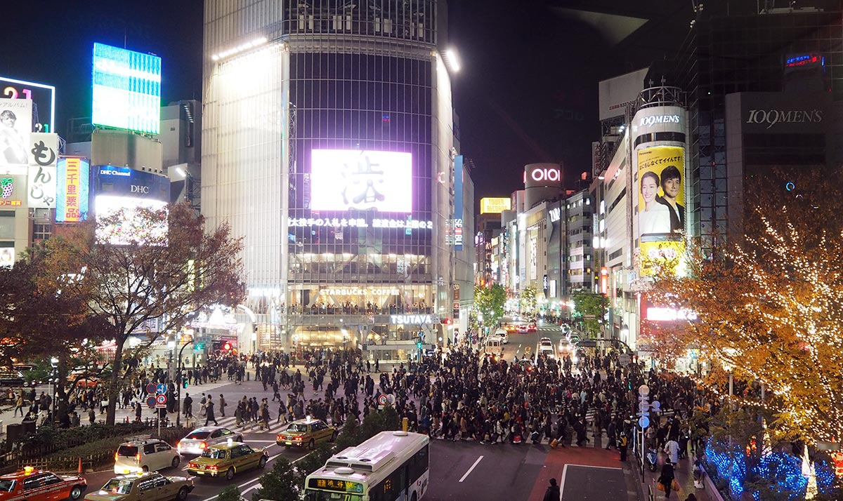 Shibuya crossing • The Petite Wanderess