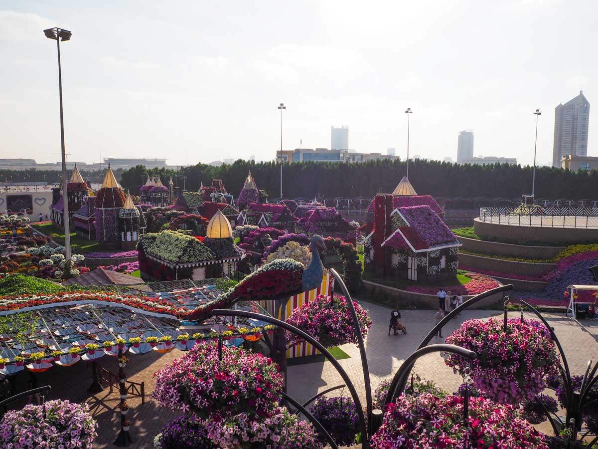 Dubai Miracle Garden • The Petite Wanderess