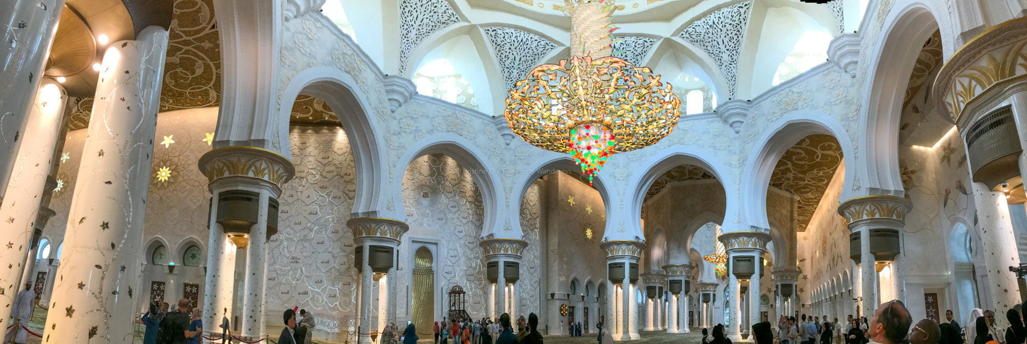 Sheikh Zayed Grand Mosque Abu Dhabi • The Petite Wanderess