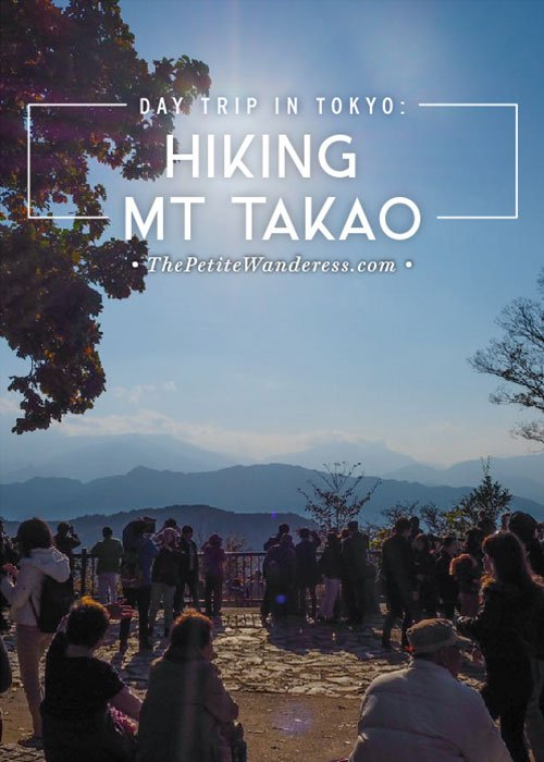 Hiking Mount Takao as a day trip, Tokyo • The Petite Wanderess