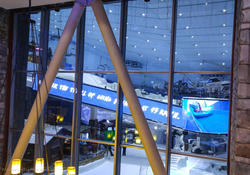 ski park inside Mall of the Emirates, Dubai