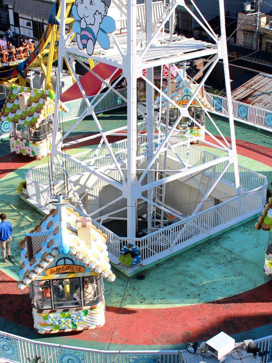 Hanayashiki Amusement Park Tokyo