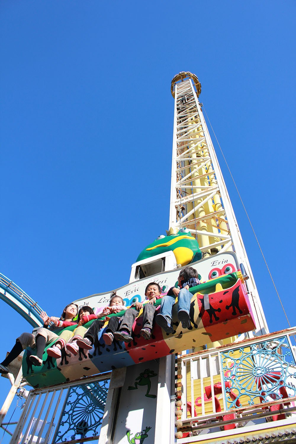free-falling ride for kids