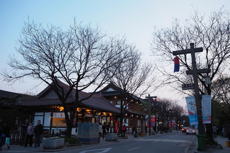 Hanok Village in Jeonju, Korea