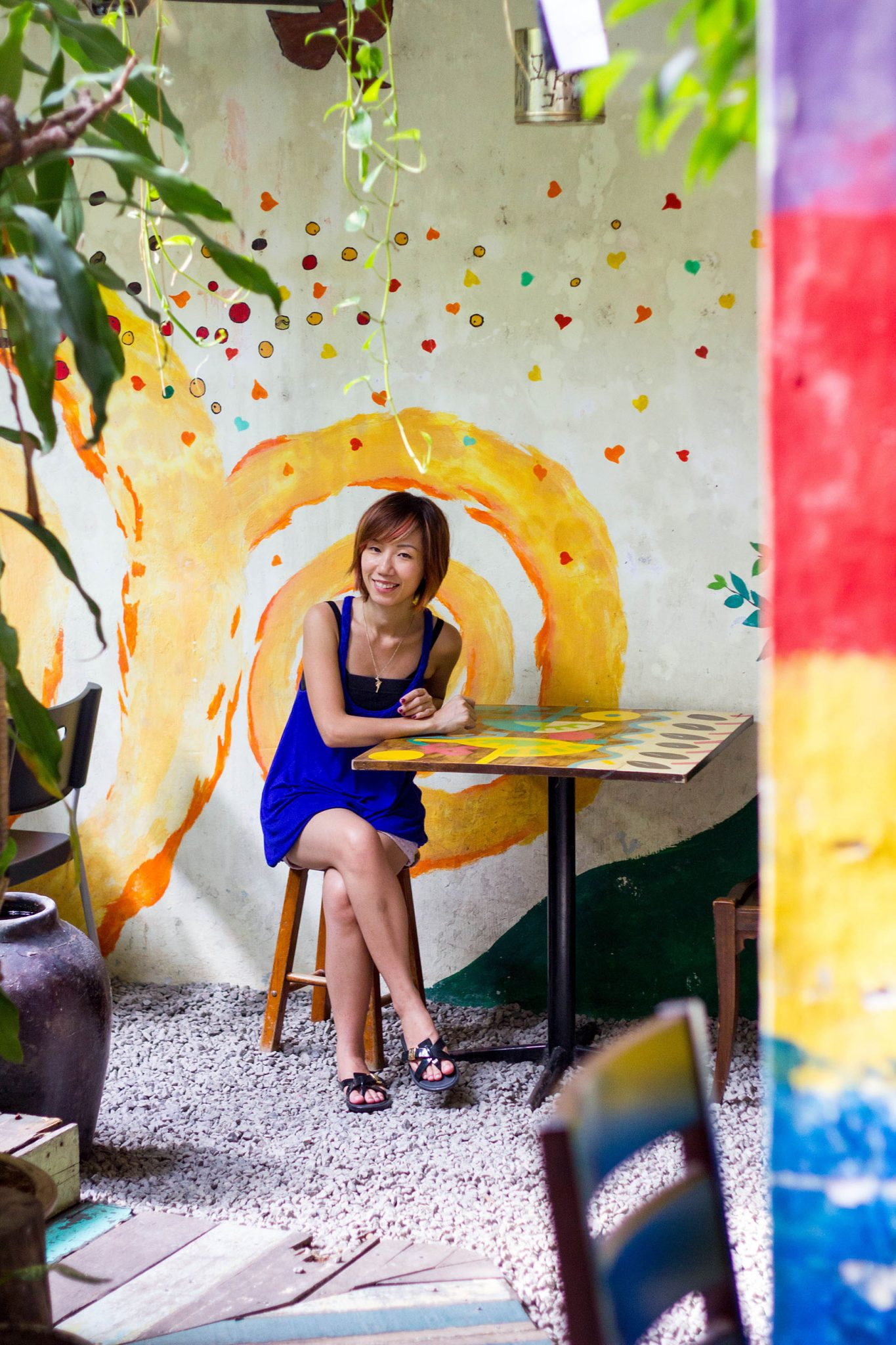 Calanthe Art Cafe in Jonker Street Melaka