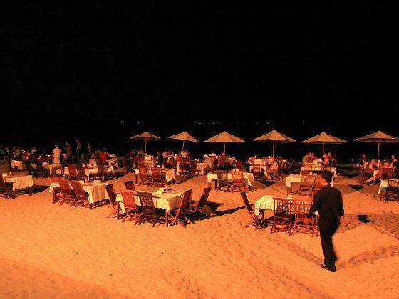 Jimbaran Bali dinner