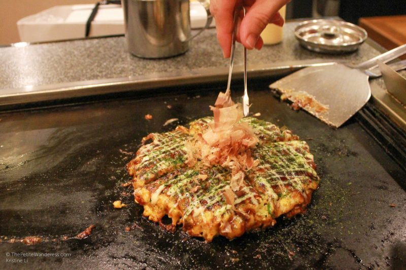 okonomiyaki | How the First Solo Trip Changed Me • The Petite Wanderess