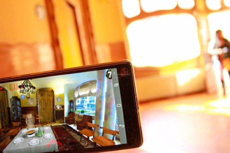 augmented reality guide | Inside Gaudi's Casa Batllo in Barcelona • The Petite Wanderess