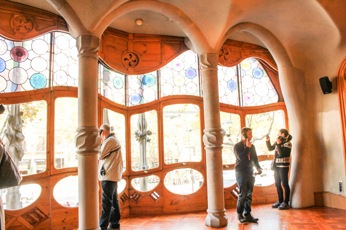 Noble Floor | Inside Gaudi's Casa Batllo in Barcelona • The Petite Wanderess
