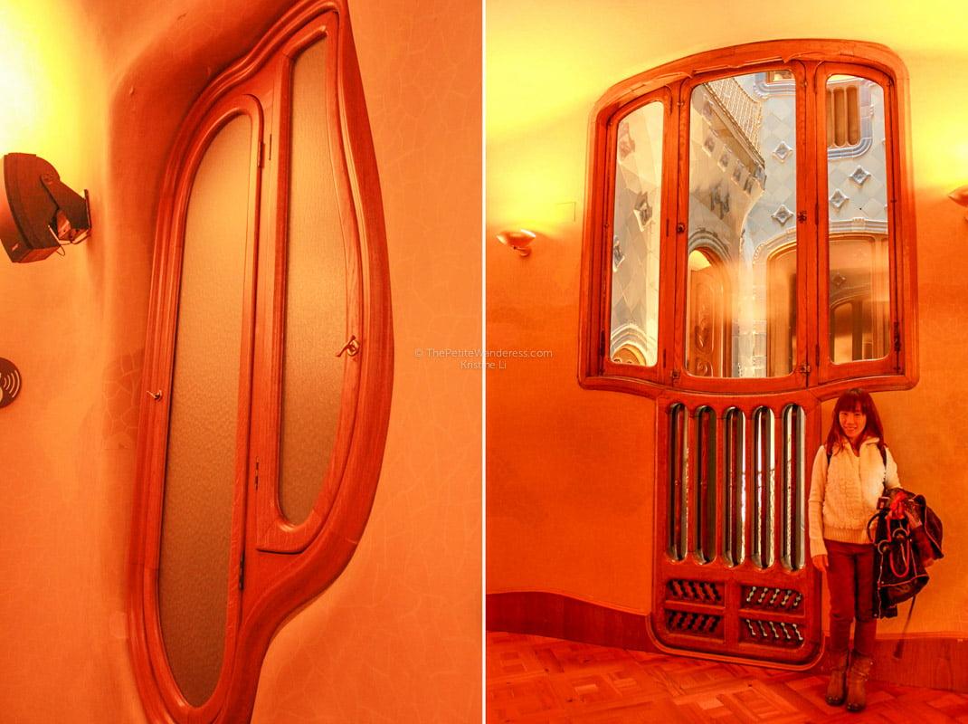 giant windows | Gaudi's Casa Batllo in Barcelona • The Petite Wanderess
