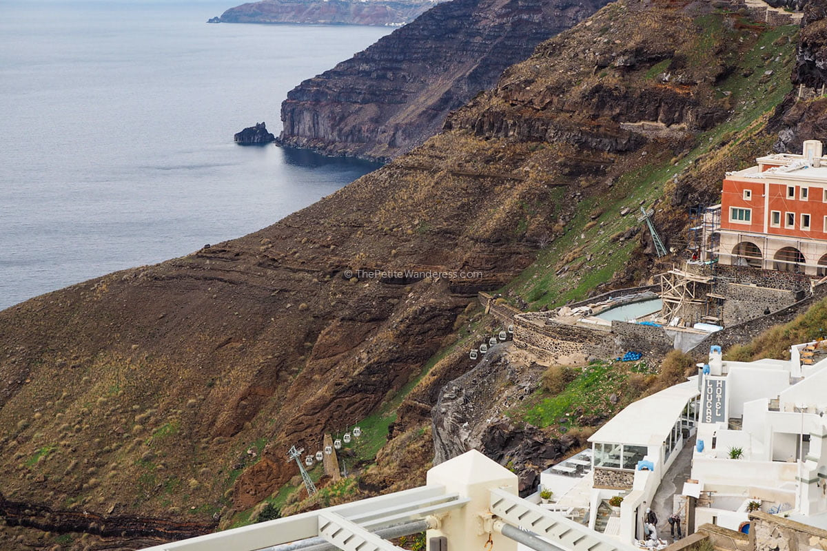 cable-cars | Santorini in January during winter – Solo Travel Guide • The Petite Wanderess