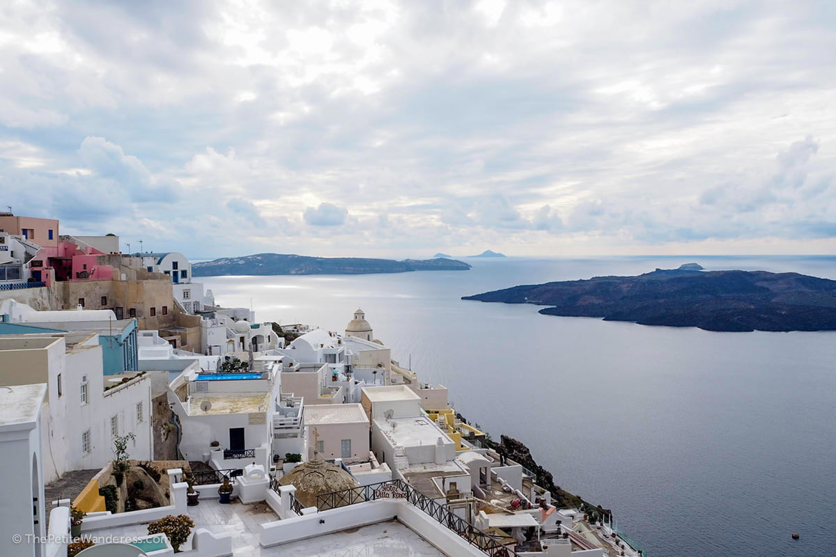 Fira | Santorini in January – Solo Travel Guide • The Petite Wanderess