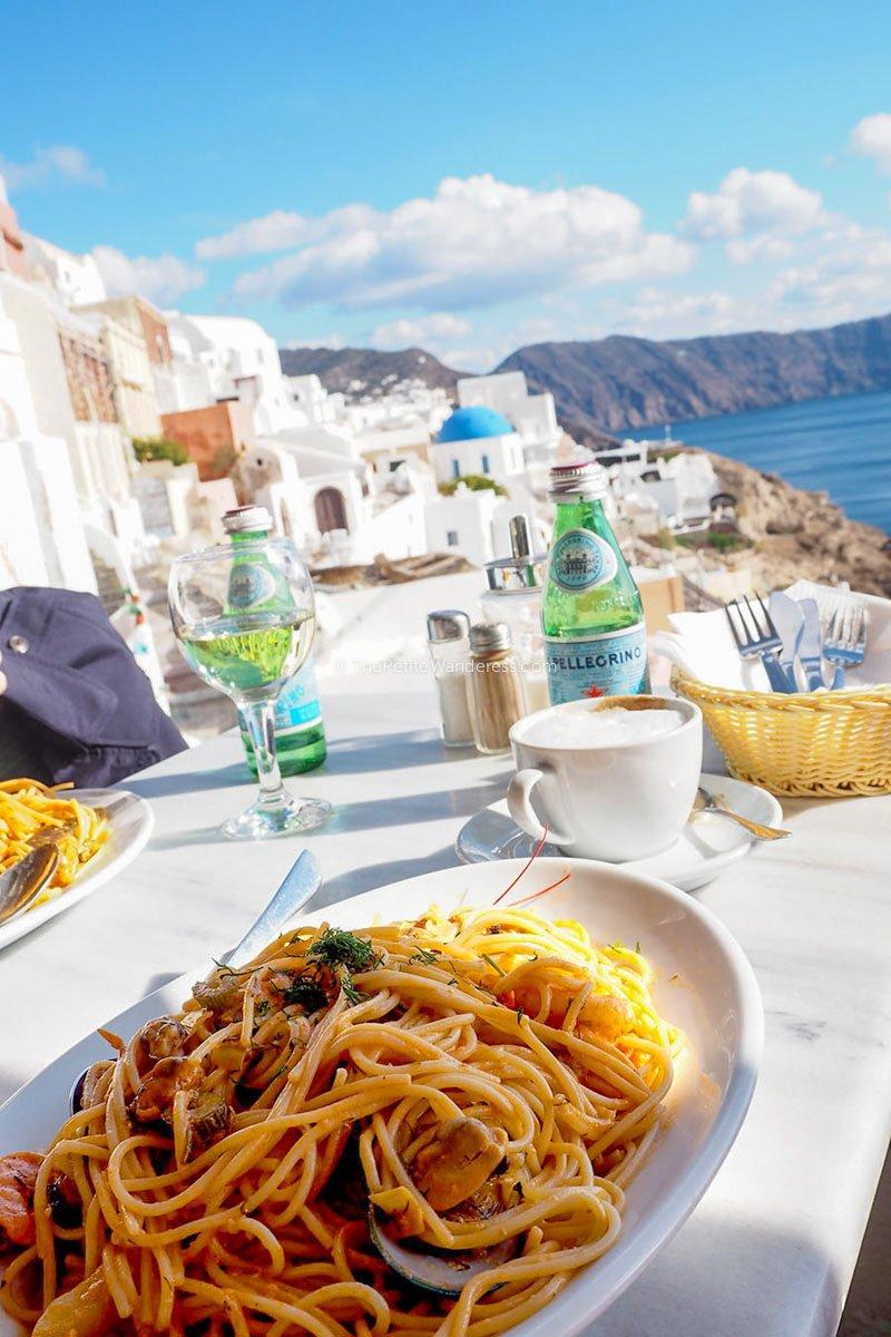 pasta   Santorini in January – Solo Travel Guide • The Petite Wanderess
