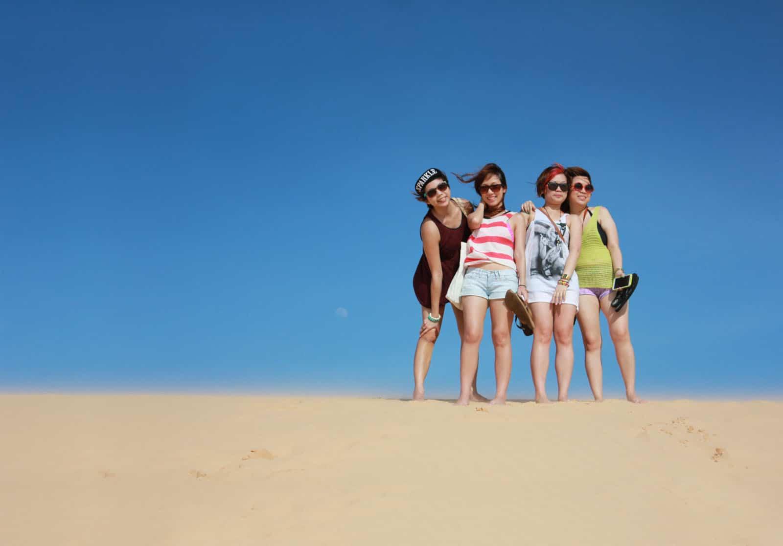 Mui Ne Sand Dunes (White) • The Petite Wanderess