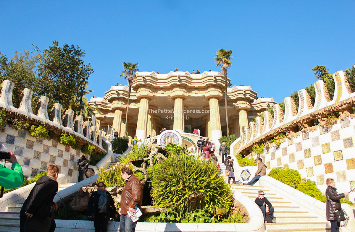 Park Guell by Gaudi • The Petite Wanderess
