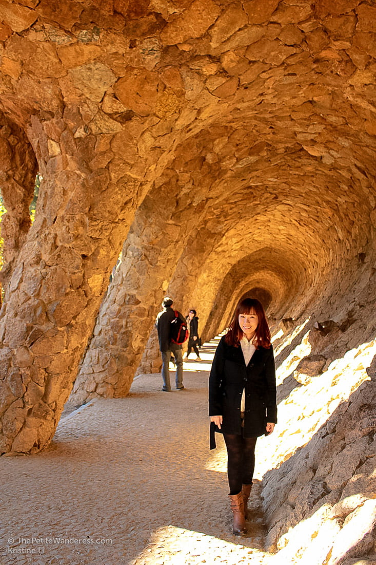 Park Guell by Gaudi • The Petite Wanderessa