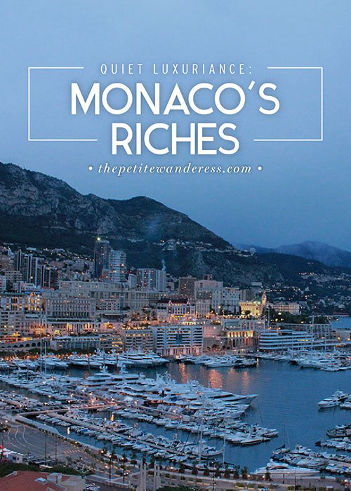 Monaco's Quiet Luxuriance • The Petite Wanderess