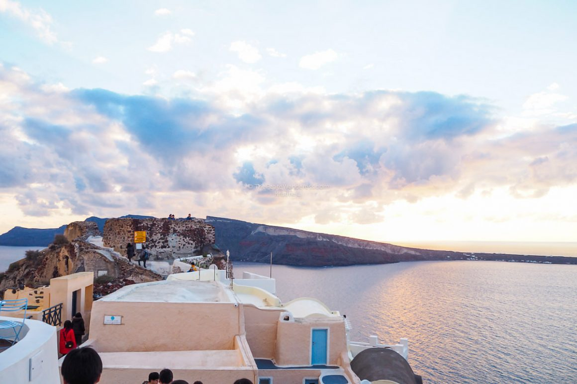 Chasing the glorious Santorini Sunset, alone • The Petite Wanderess