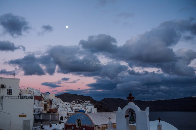 after sunset | Chasing the Santorini Sunset, alone • The Petite Wanderess