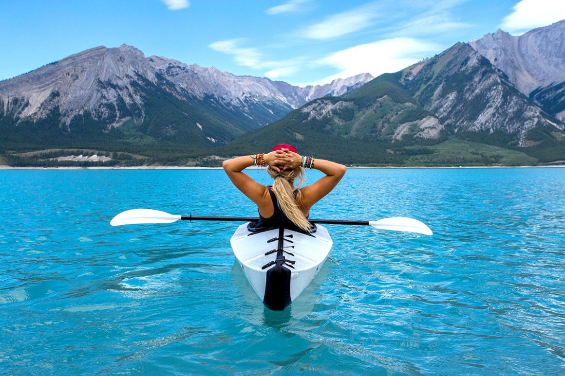 girl kayaking solo | How To Conquer Your First Solo Trip & Have A Good Time!