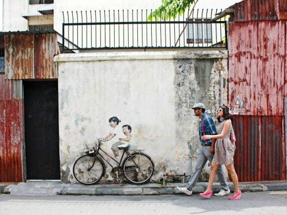 Penang's Street Art in 16 Photos • The Petite Wanderess