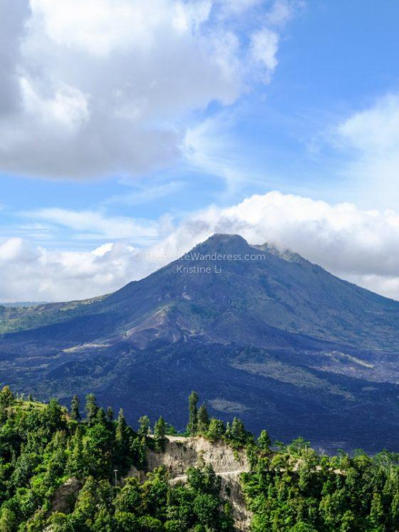 Mt Batur from far   Mt Batur trekking review • The Petite Wanderess