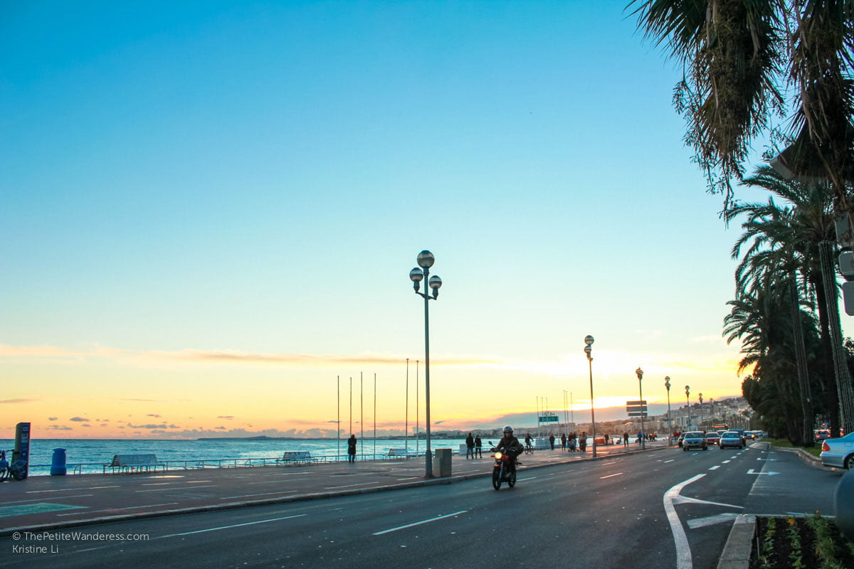 sunset hours | Things to Do in Nice • The Petite Wanderess
