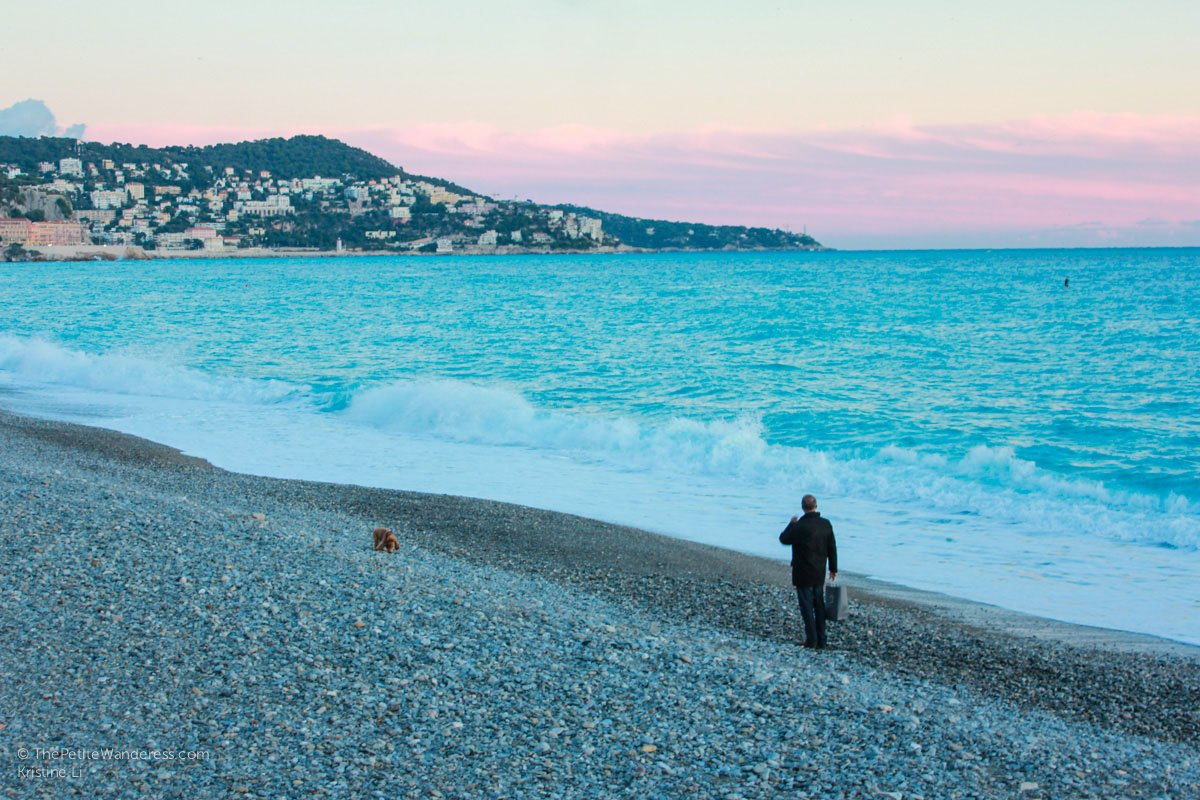 sunset | Things to Do in Nice • The Petite Wanderess