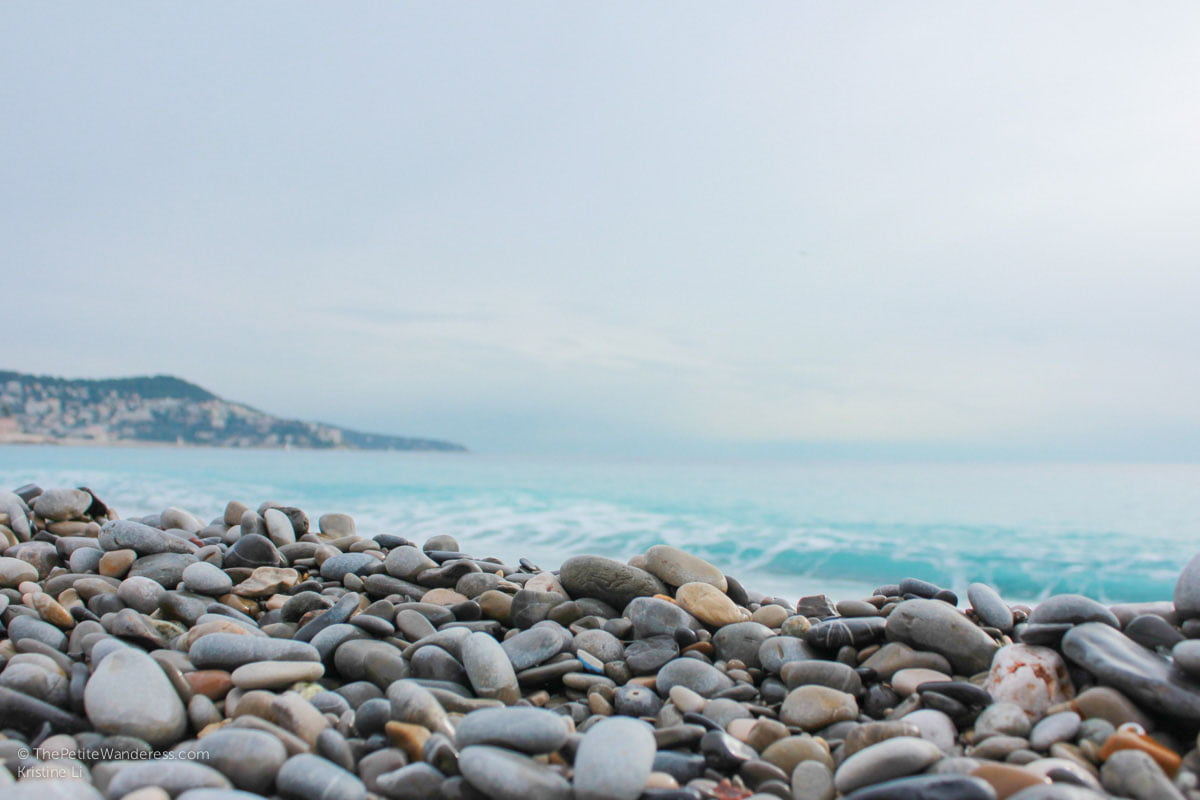 pebble beach in Nice   Things to Do in Nice • The Petite Wanderess