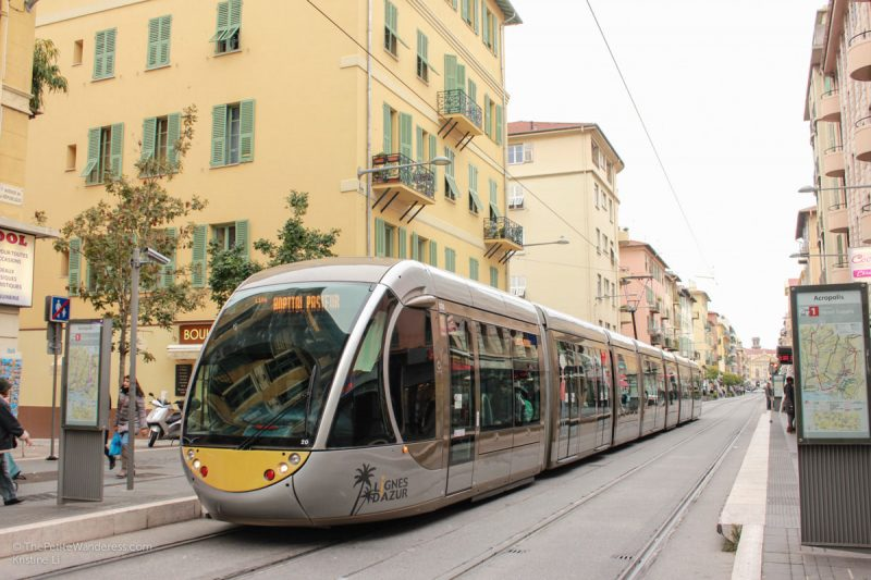 tram | Things to Do in Nice • The Petite Wanderess