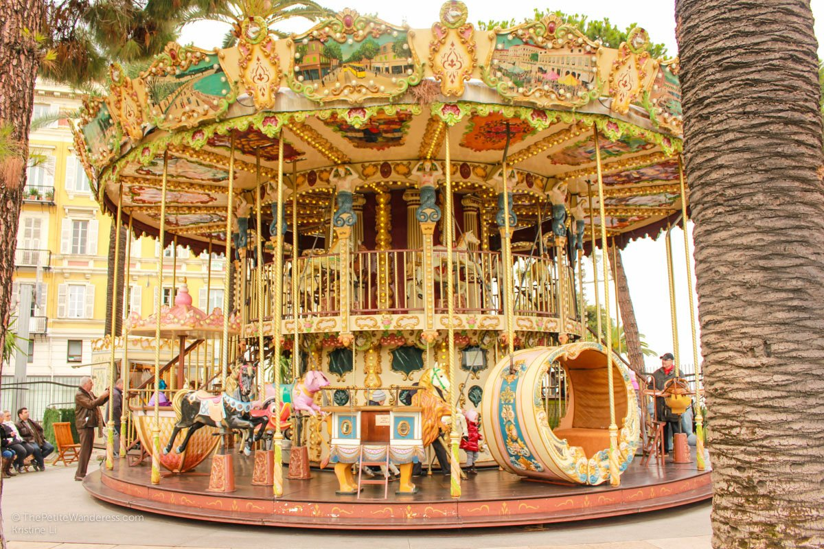 carousel | Things to Do in Nice • The Petite Wanderess