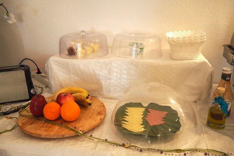 breakfast | Review: Dream Island Hotel, Fira, Santorini • The Petite Wanderess