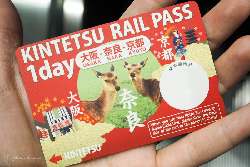 Kintetsu Rail Pass | Nara Day Trip from Kyoto • The Petite Wanderess