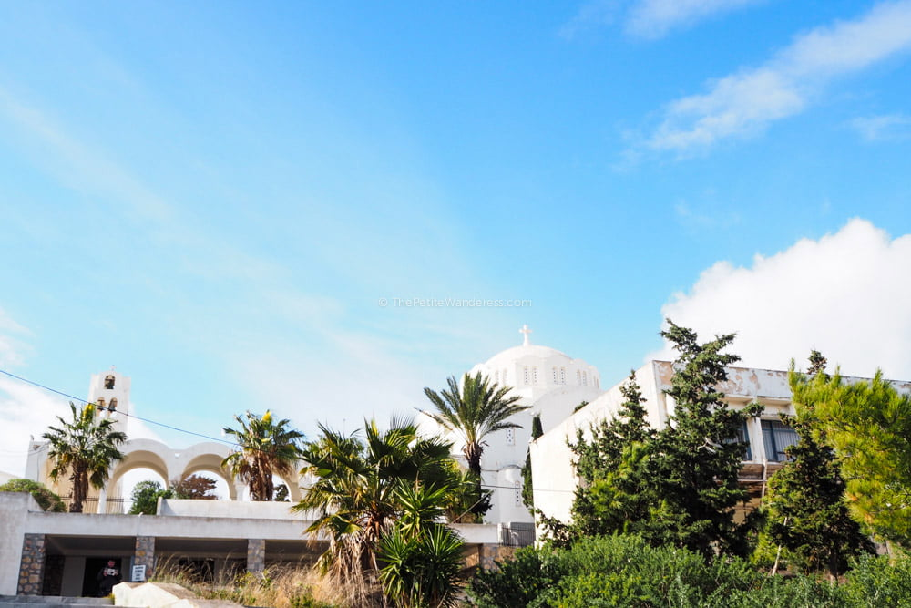 museum at Fira | Santorini in shades of blue & white • The Petite Wanderess