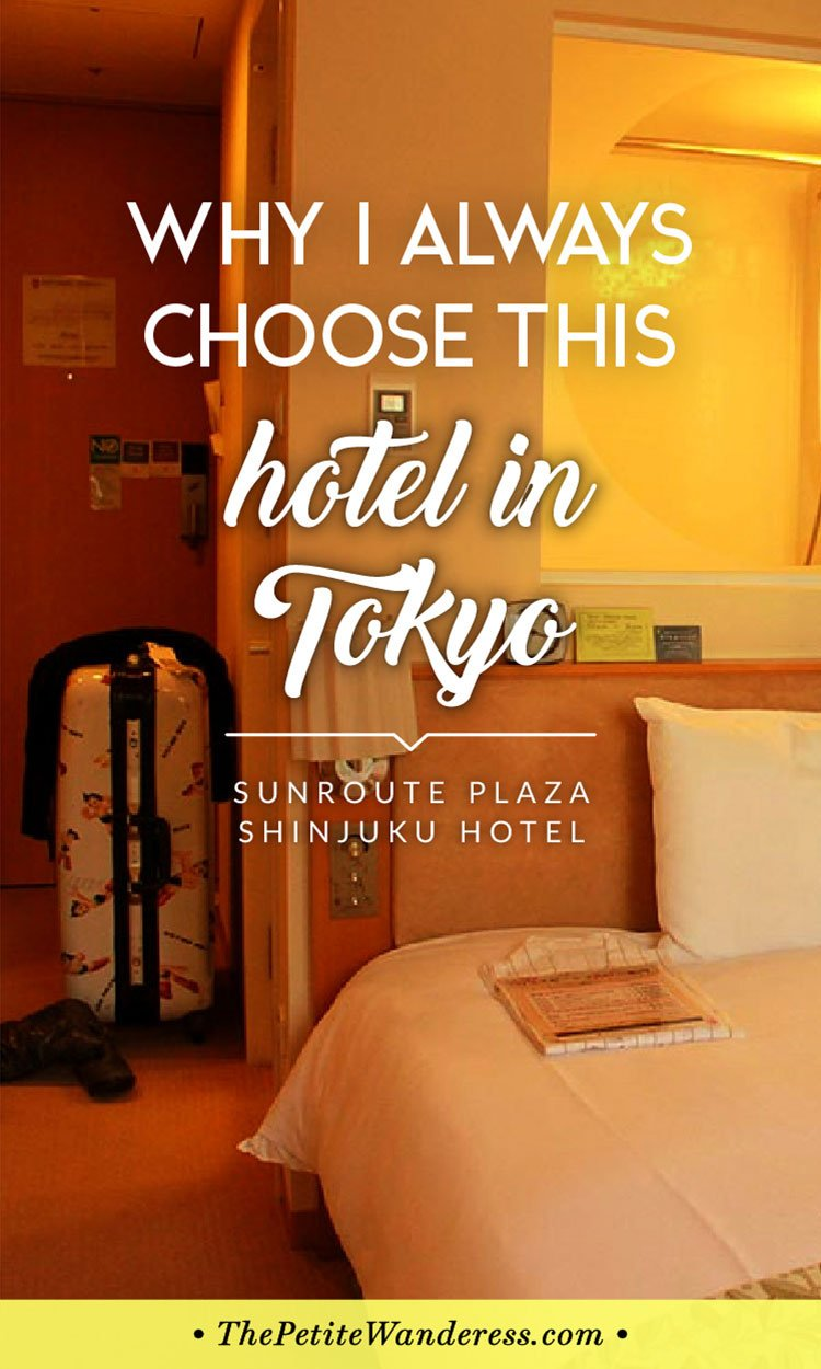 Where to Stay in Tokyo: Hotel Sunroute Plaza Shinjuku (review)• The Petite Wanderess