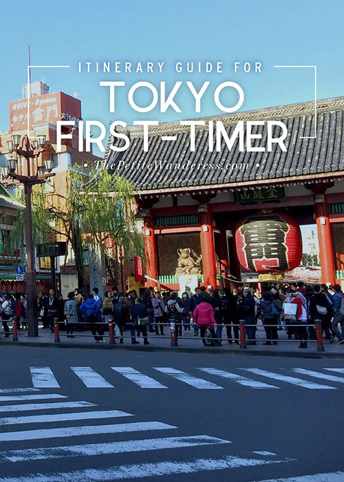 First-Timer's List for Tokyo! • The Petite Wanderess