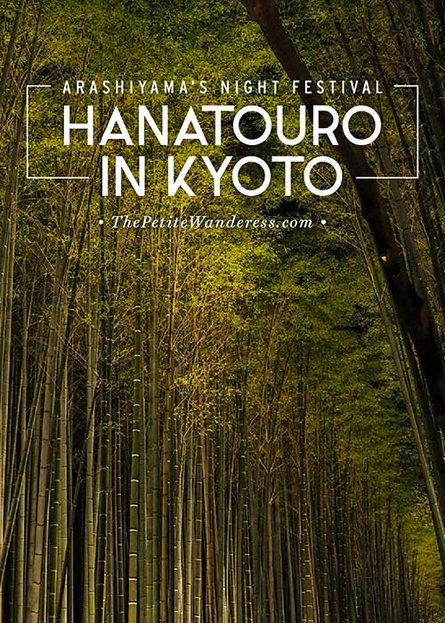 Kyoto's Hanatouro night festival in Arashiyama