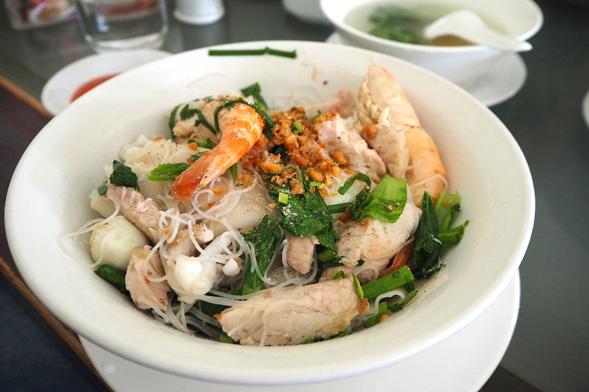 seafood beehoon with kuaytiao at Yangon