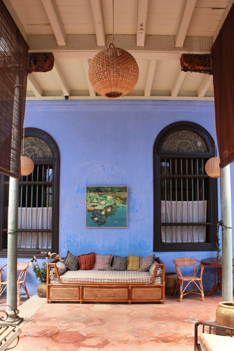 The Blue Mansion in Penang • The Petite Wanderess
