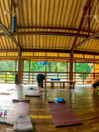 DIY yoga retreat • The Petite Wanderess