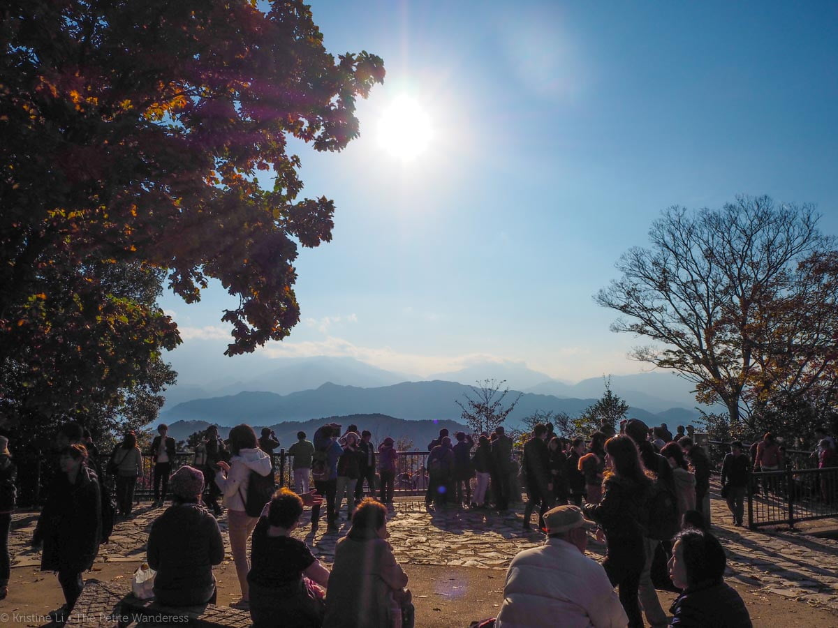 Mount Takao summit