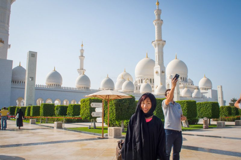 cleared security | Sheikh Zayed Grand Mosque, Abu Dhabi • The Petite Wanderess