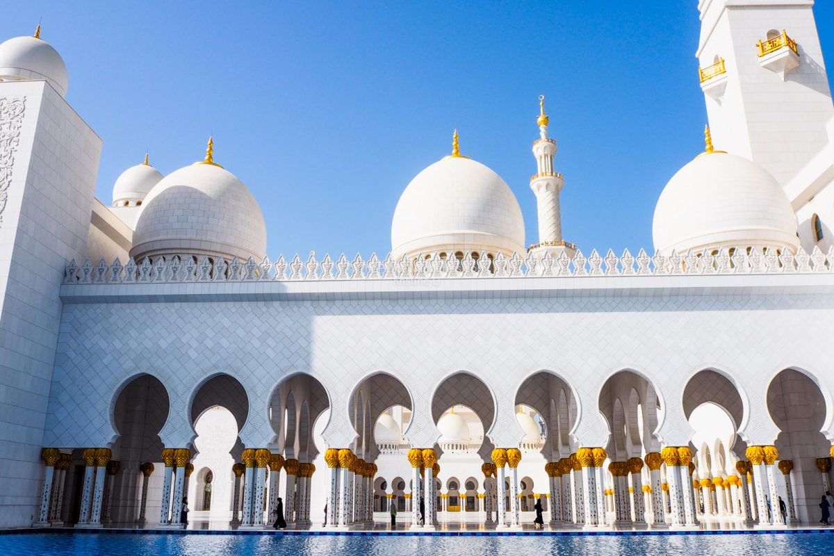 Sheikh Zayed Grand Mosque, Abu Dhabi • The Petite Wanderess