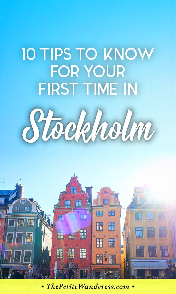 Top Travel Tips to Know Before You Visit Stockholm for the First Time! • The Petite Wanderess