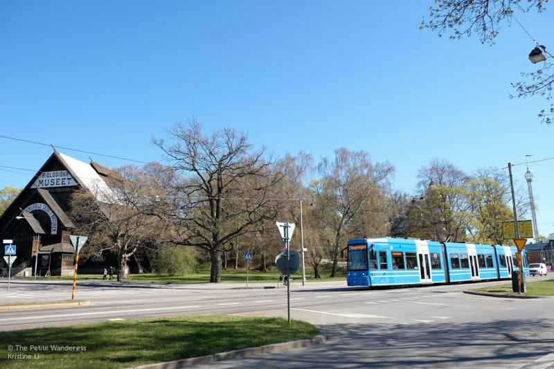 tram in Djurgården | Stockholm in 48 Hours • The Petite Wanderess