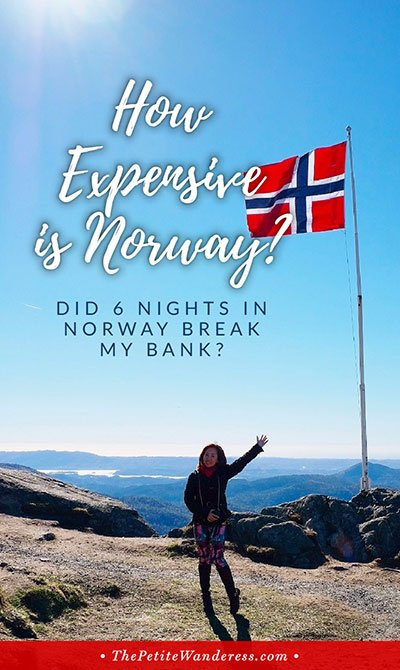 How Much Does A Norway Trip Cost? • The Petite Wanderess